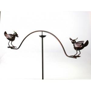 Zápich, váha s ptáčky