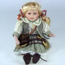 Sedící panenka