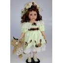 porcel. panenka sváteční
