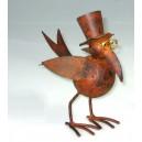 pták s kloboukem