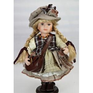 Stojící panenka s brašnou