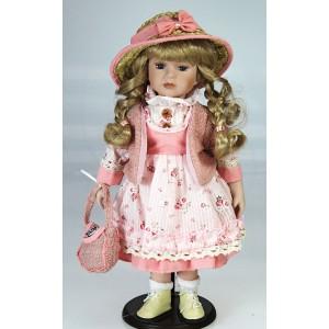 Panenka 42 cm, růžová