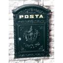 Hliníková poštovní schránka 45x31x10 cm
